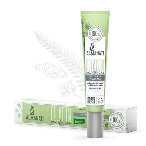 Creme Facial Gelatum Uso Local ALMANATI  15G