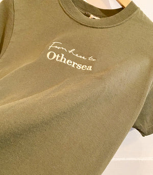 T-shirt Vintage - FROM HERE TO OTHERSEA - PINE FOREST