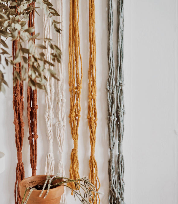 Macrame Plant Hanger - Simple