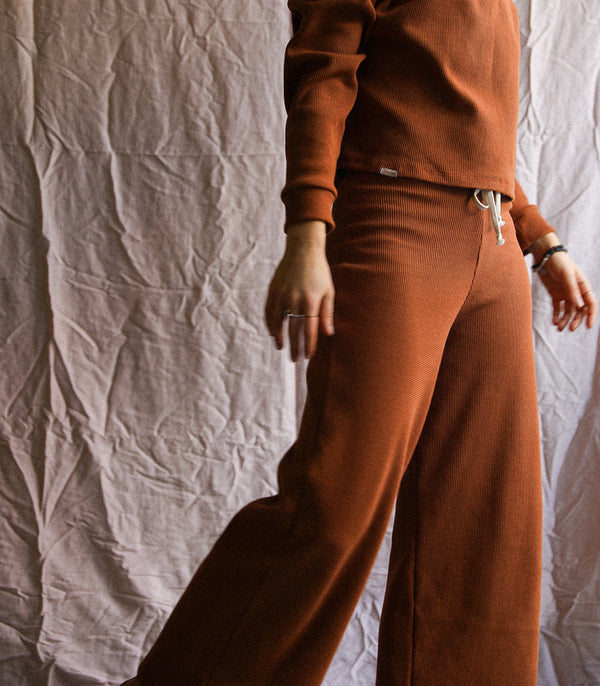 The « GYPSY SOUL » Pants - CLAY