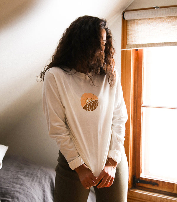 Longsleeves « FROM HERE TO OTHERSEA » - NATURAL