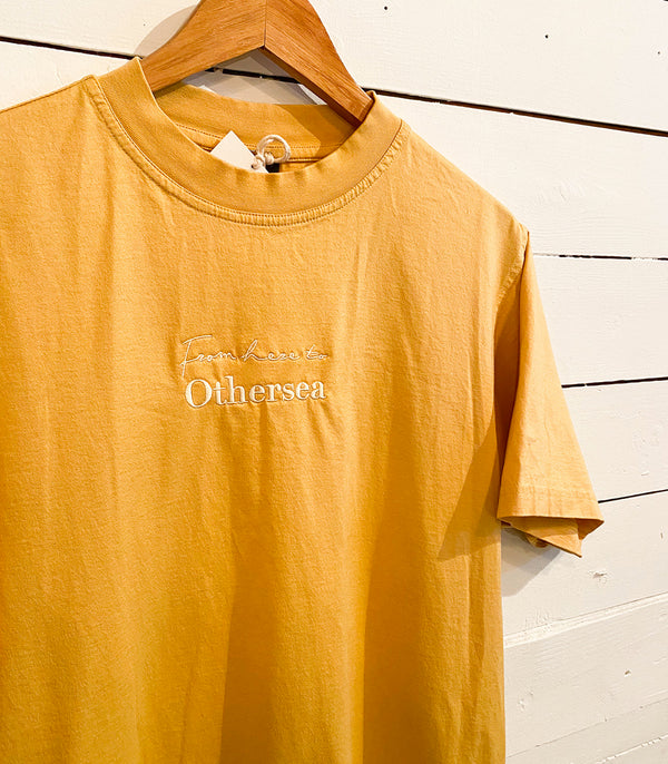 Vintage T-Shirt - FROM HERE TO OTHERSEA - SUN FLOWER