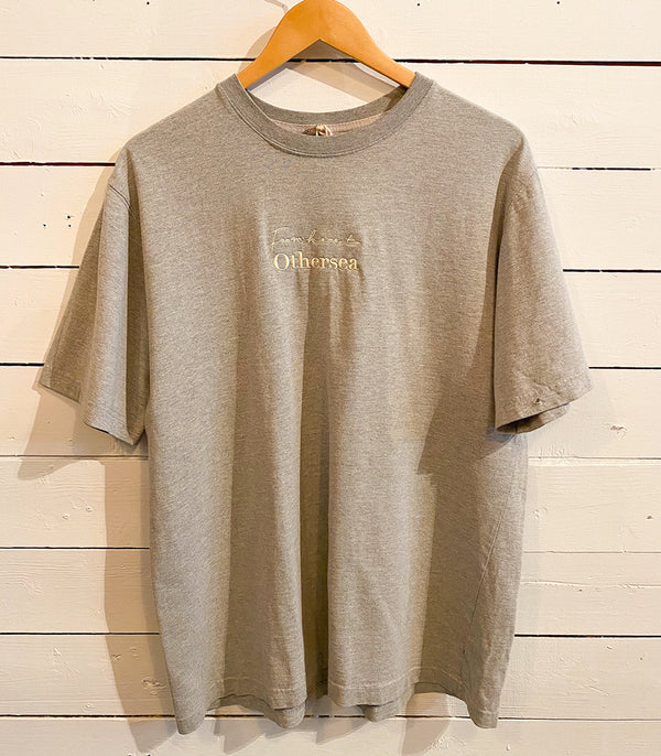 Vintage T-Shirt - FROM HERE TO OTHERSEA - STONY GREY