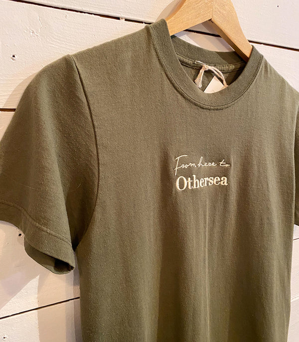 Vintage T-Shirt - FROM HERE TO OTHERSEA - PINE FOREST