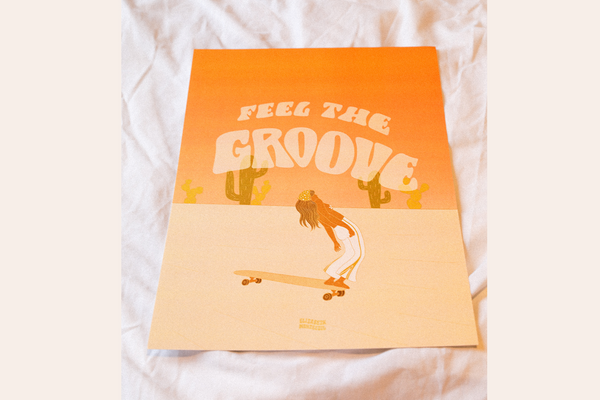 Feel the Groove - Print