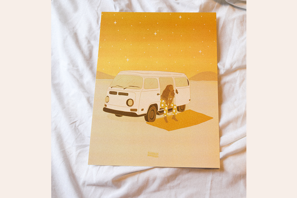Desert Night - Print