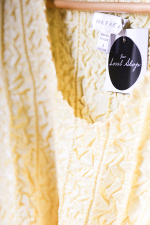 Silk Yellow Textured Shirt