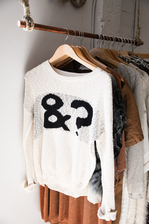 Beige Knit Sweater