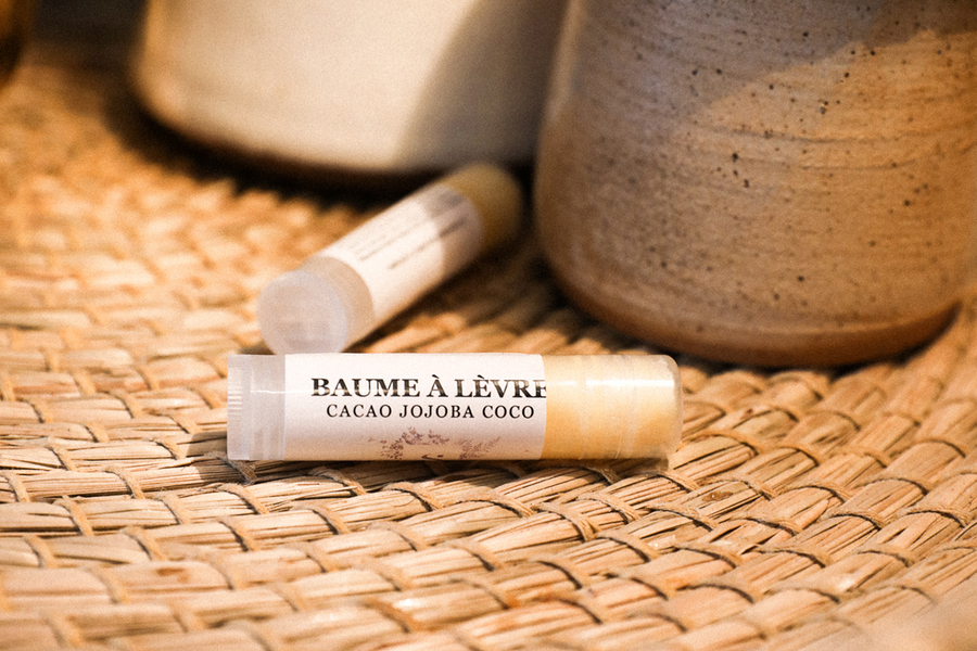 LIP BALM ~ Made in Qc ~ Cacao/Jojoba/Coco