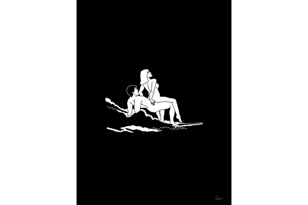 SURF AND SEX NOIR/BLACK