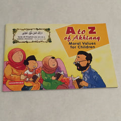 A To Z of Akhlaaq: Moral Values for Children Storybook