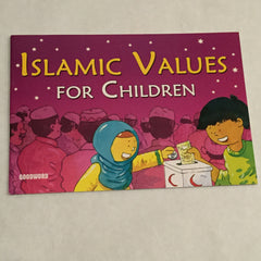Islamic Values for Children Storybook