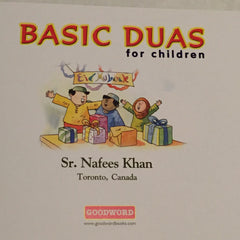 Basic Duas for Children Storybook