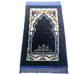 Muslim Prayer Rugs Islam Thick Cotton Fabric Printed Patterns Travel Prayer Mat 31.50''x47.24''
