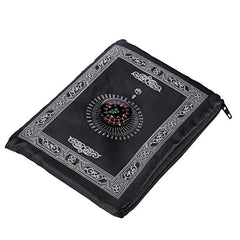 Islamic(Pack of 2) Travel Prayer Mat,Portable Rug,Pocket Sized Carry Bag Waterproof Islamic Prayer Rug,Qibla,Ramadan Decoration,Muslim Gift,Quran,-Islamic Gifts 123-US Seller
