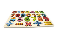 Home Learning Wood Alphabet and Number Puzzle For Kids Toddlers Pre-School Pre-K Board Early Learning Toys 1 2 3 4 Age