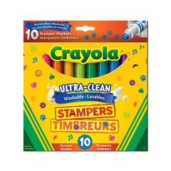 10 Ultra Clean Expression Stamper Marker|10 marqueurs timbreurs lavables