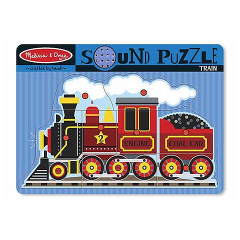 Train sound puzzle|Casse-tête sonore - train