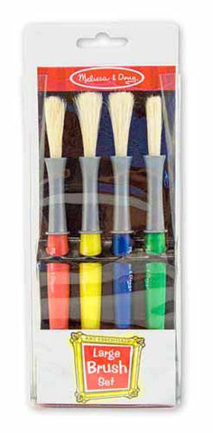 Large paint brush set|Ensemble de 4 gros pinceaux