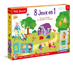 8 jeux en 1  Clementoni (french version)|8 jeux en 1  Clementoni