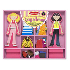 Abby & Emma Magnetic Dress-Up Set|Jeu d'habillage magnétique - Abby & Emma