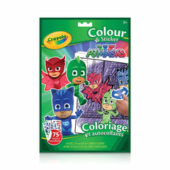Colour & Sticker - PJ Masks|Coloriage et autocollants - PJ Masks