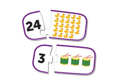 Counting Puzzle Cards|Casse-têtes chiffres