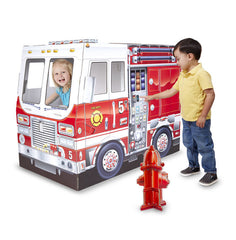 Fire Truck Indoor Playhouse|Camion de pompiers Melissa & Doug
