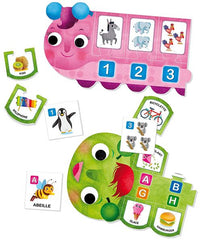 Carotina Preschool ABC - 123 (french version)|Carotina Preschool ABC - 123