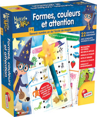 Magicien Malin Formes couleurs et attention (french version)|Magicien Malin Formes couleurs et attention