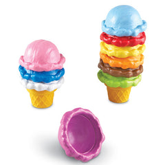 Smart Snacks Rainbow Color Cones|Cornets colorés