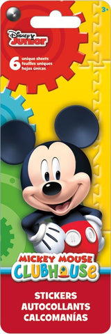 Mickey Mouse Clubhouse Sticker Flip Pack|6 feuilles d'autocollants uniques Mickey Mouse Clubhouse