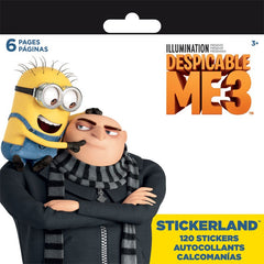Mini Stickerland Pad - 120 Despicable me 3 stickers|120 autocollants Despicable me 3