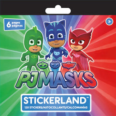 Mini Stickerland Pad - 120 PJ Masks stickers|120 autocollants PJ Masks