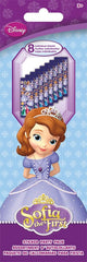Sofia The First Sticker Party Pack|8 feuilles d'autocollants Sofia the first