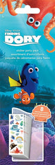 Finding Dory Sticker Party Pack|8 feuilles d'autocollants Finding Dory