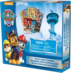 Paw Patrol My Big Box of Sticker|Ma grande boite d'autocollants Pat'Patrouille