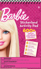 Barbie Stickerland Activity Pad|Tablette d'autocollants et activités Barbie