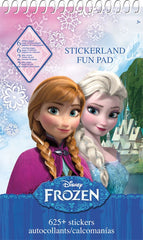 Frozen Stickerland Activity Pad|Tablette d'autocollants et activités Reine des neiges