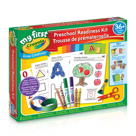 Preschool Readiness Kit|Trousse de prématernelle