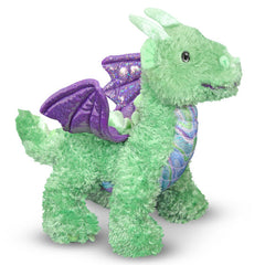 Zephyr Green Dragon Stuffed Animal|Petite peluche dragon vert