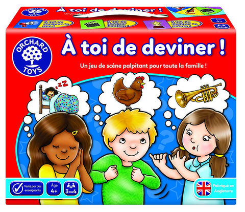 Can you guess|À toi de deviner