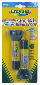 2 Washable Glue Sticks|2 bâtons de colle lavable