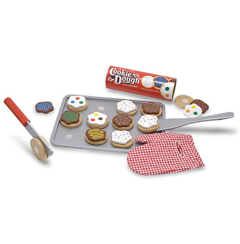 Slice and Bake Cookie Set|Ensemble de biscuits en bois