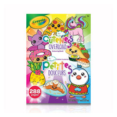 Colouring book 288 pages|Cahier à colorier 288 pages