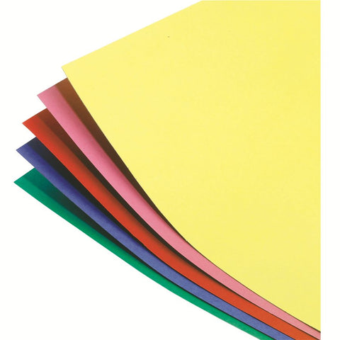 "Set of  5 Thick Colored Poster Board 22"" X 28""