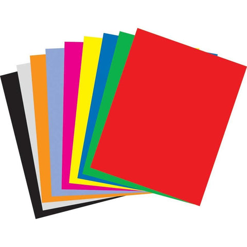 "Set of 8 Poster Board 22"" X 28"" 2-ply