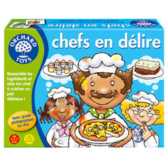Chefs en délire (french version)|Chefs en délire