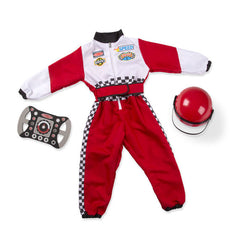Race Car Driver Role Play Costume Set - 3 to 6 years|Costume de pilote de course - 3 à 6 ans
