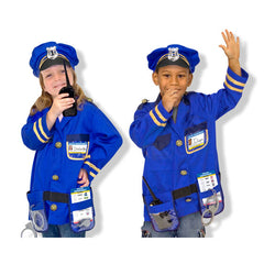 Police Officer Role Play set - 3 to 6 years|Costume de Policier - 3 à 6 ans
